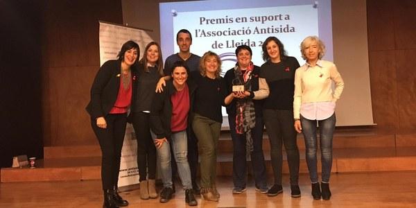 L'Oficina Jove de la Noguera rep un premi de l'Associació Antisida de Lleida