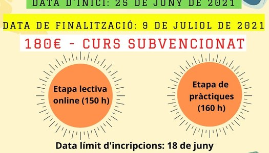 Torna aquest estiu el curs de monitor/a de lleure en format online