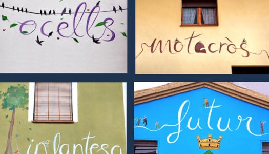 Ruta de les paraules i els murals de Montgai